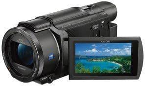 Camcorder für Webcamgirls Sony FDR-AX53: Diesen Sony-Camcorder benutzen wir für unsere Videos (siehe Video Startseite). Top Qualität, einfachste Bedienung + Sieger in vielen Tests! Besonders gefällt uns der 5-Achsen Bildstabilisator. Selbst wenn's mal schneller zur Sache geht oder mit zitteriger Hand, werden die Videos nicht verwackelt und Du hast immer ein Top Ergebnis.