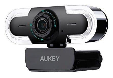 Aukey 2K HD: Dies ist eine leicht handzuhabende HD-Webcam für den kleinen Geldbeutel. HD und ist einfach in der Handhabung. Ideal für den schnellen Einstieg um als Camgirl zu starten. (Videos in 2K: Ultra hohe Auflösung mit 2048 x 1536 Pixel, 3,2 Megapixel)